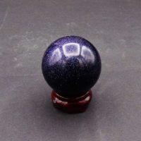 Blue Goldstone Sphere (40mm)