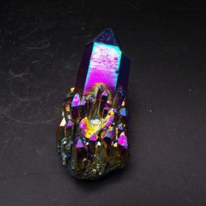 Titanium Aura Quartz Cluster (92g)