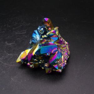Titanium Aura Quartz Cluster (121g)