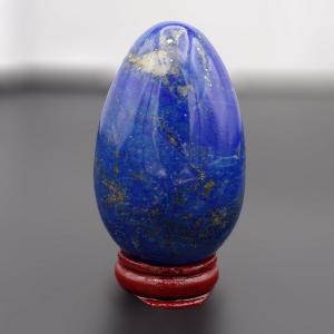 Lapis Polished Egg (68mm x 42mm)